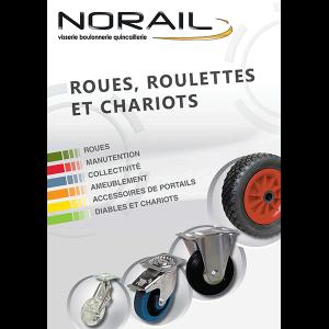 Catalogue Roues et Roulettes de NORAIL