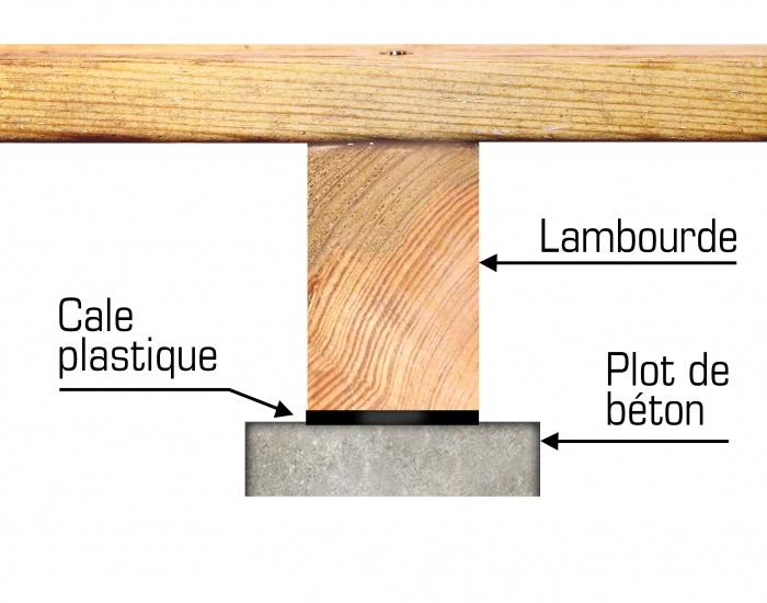 Structure terrasse en bois