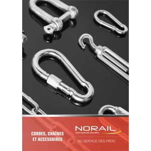Catalogue NORAIL Cordes et Chaines