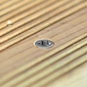 Vis terrasse fraisage terrasse en bois résultat